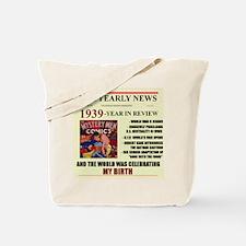 born in 1939 birthday gift Tote Bag