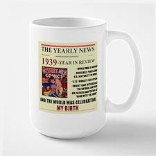 born in 1939 birthday gift Large Mug