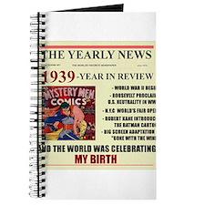 born in 1939 birthday gift Journal