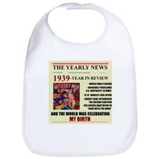 born in 1939 birthday gift Bib