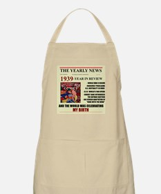 born in 1939 birthday gift BBQ Apron