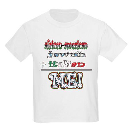 AfrJewiTalian Kids Light T-Shirt