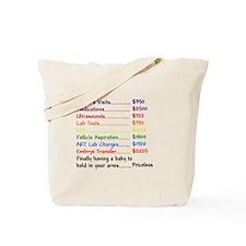 IVF Babies Tote Bag