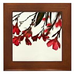 floral Framed Tile
