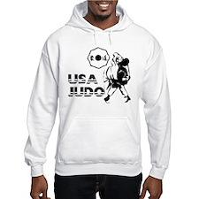 Cute Usa judo Hoodie