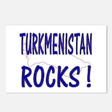 Turkmenistan Rocks ! Postcards (Package of 8)