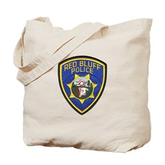 Red Bluff Police Tote Bag