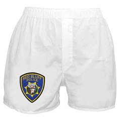 Red Bluff Police Boxer Shorts