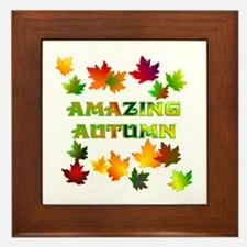 Autumn Framed Tile