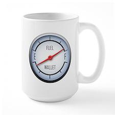 Gas vs Wallet Gauge Mug