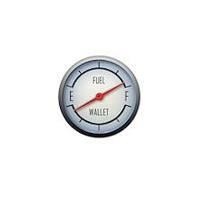Gas vs Wallet Gauge Mini Button