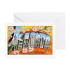 Atlanta Georgia Greetings Greeting Card