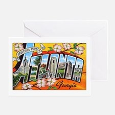 Atlanta Georgia Greetings Greeting Card