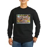 Atlantic city Long Sleeve Dark T-Shirts
