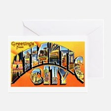Atlantic City New Jersey Gree Greeting Card