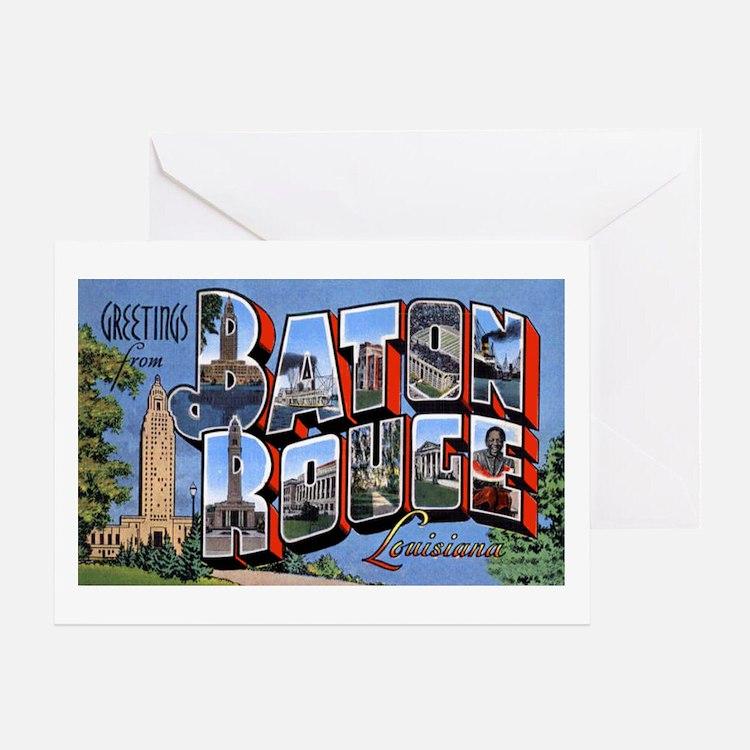 Baton Rouge Louisiana Greetin Greeting Card