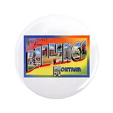 "Billings Montana Greetings 3.5"" Button"