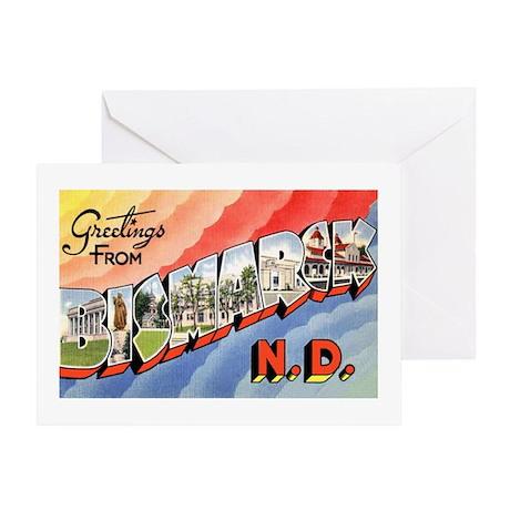 Bismarck North Dakota Greetin Greeting Card