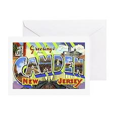 Camden New Jersey Greeting Card