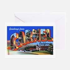 Carmel California Greetings Greeting Card