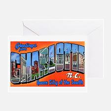 Charlotte North Carolina Gree Greeting Card