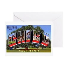 Chico California Greetings Greeting Card