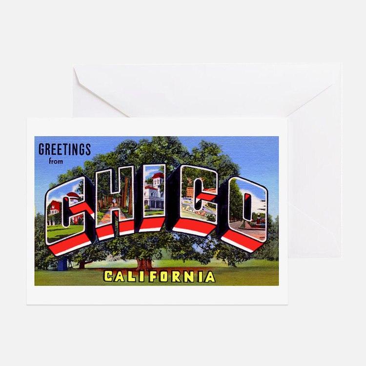 Chico California Greetings Greeting Card