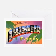 Clearwater Florida Greetings Greeting Card