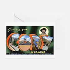 Cody Wyoming Greetings Greeting Card
