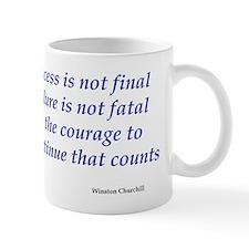 Winston Churchill quote Mug