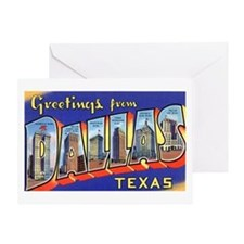 Dallas Texas Greetings Greeting Card