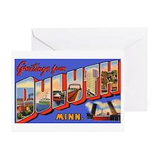 Duluth Minnesota Greetings Greeting Card
