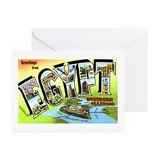 Egypt Illinois Greetings Greeting Cards (Pk of 20)