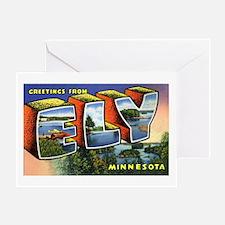 Ely Minnesota Greetings Greeting Card