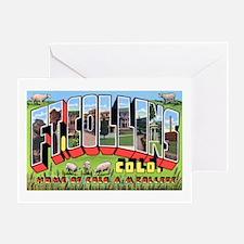 Fort Collins Colorado Greetin Greeting Card