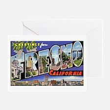 Fresno California Greetings Greeting Card