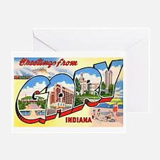 Gary Indiana Greetings Greeting Card