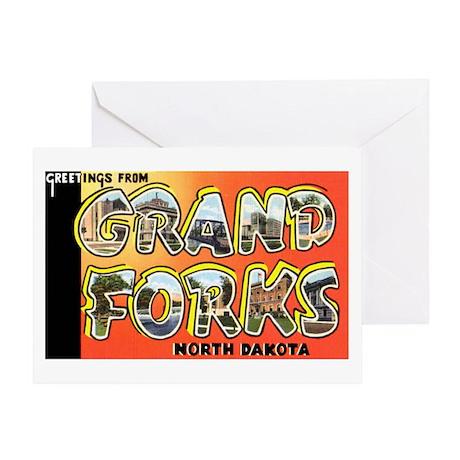 Grand forks North Dakota Greeting Card