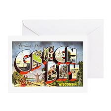 Green Bay Wisconsin Greetings Greeting Card