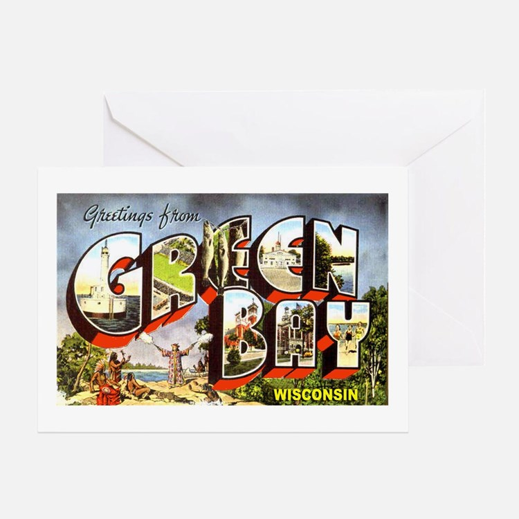 Green Bay Wisconsin Greetings Greeting Card