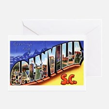 Greenville South Carolina Gre Greeting Card