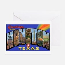 Houston Texas Greetings Greeting Card