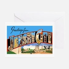 Jersey City New Jersey Greeting Card
