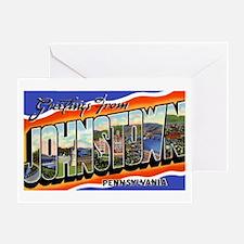Johnstown Pennsylvania Greeti Greeting Card