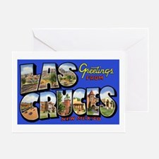Las Cruces New Mexico Greeting Card