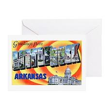 Little Rock Arkansas Greeting Card
