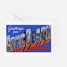 Long Beach California Greeting Card