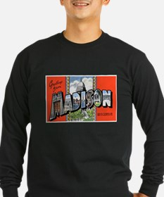 Madison Wisconsin Greetings T