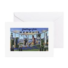 Memphis Tennessee Greetings Greeting Cards (Pk of