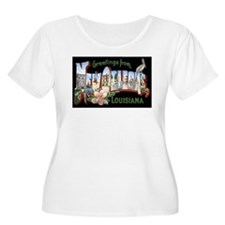 New Orleans Louisiana Greetin T-Shirt